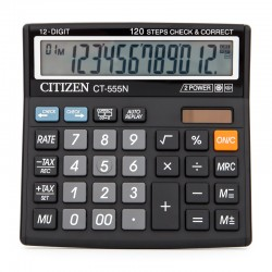 Kalkulator Citizen CT-555  12 poz.